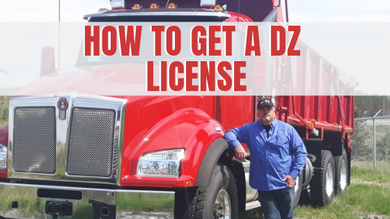 how to get a dz license