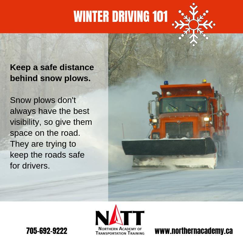 winter driving tips sudbury NATT