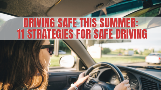 driving safe this summer